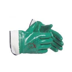 Rękawice nitryl ZIRKON 800 z mankietem