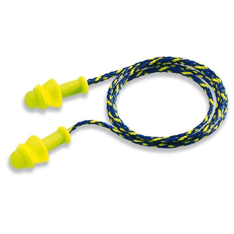 Zatyczki do uszu ze sznureczkiem w pudełeczku UVEX WHISPER + 2111.217