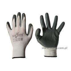 Rękawice nitrylowe lekkie popielate 5Fingers PERCA