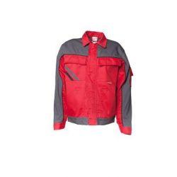 HIGHLINE Bluza robocza PLANAM /czerwony-łupkowy-czarny/