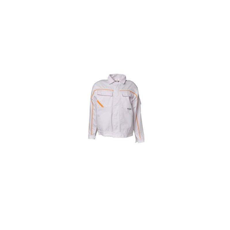 HIGHLINE Bluza robocza PLANAM /czysta biel-czysta biel-żółty/