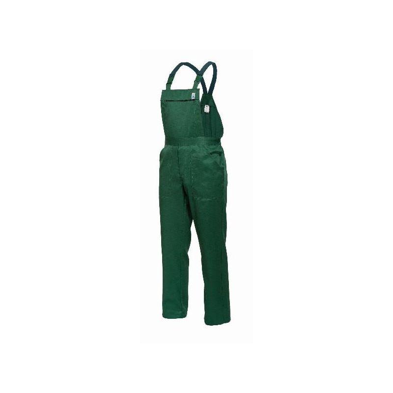Spodnie ogrodniczki PIRAT PLUS /zielone/