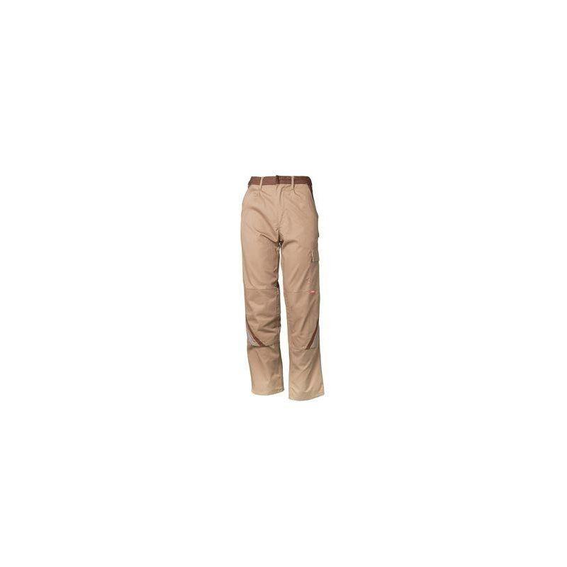 HIGHLINE Spodnie do pasa PLANAM /beżowy-brązowy-cynkowy/