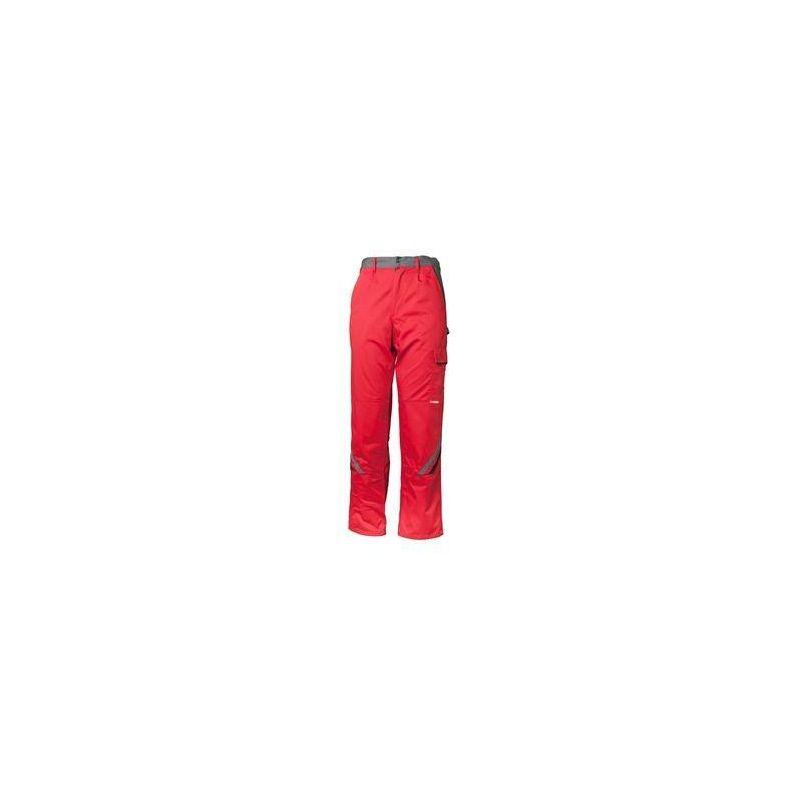 HIGHLINE Spodnie do pasa PLANAM /czerwony-łupkowy-czarny/