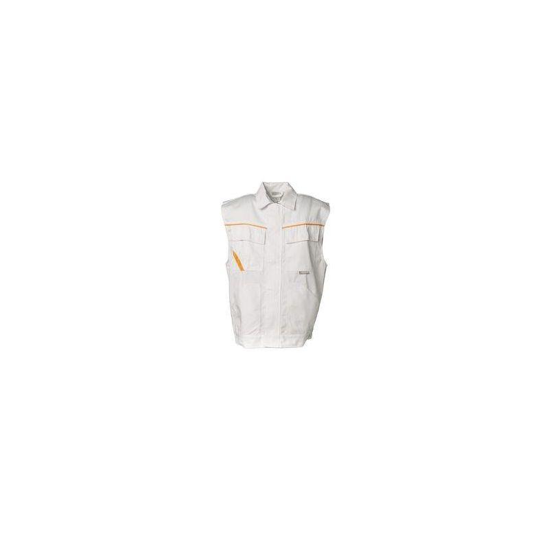 HIGHLINE Kamizelka PLANAM /czysta biel-czysta biel-żółty/