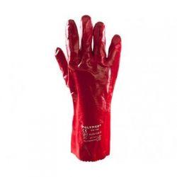 Rękawice 35 cm powl.PCV-długie