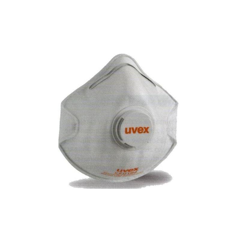 Półmaska filtrująca z zaworem wydechowym i warstwą węgla aktywnego Silv-Air 8732.220