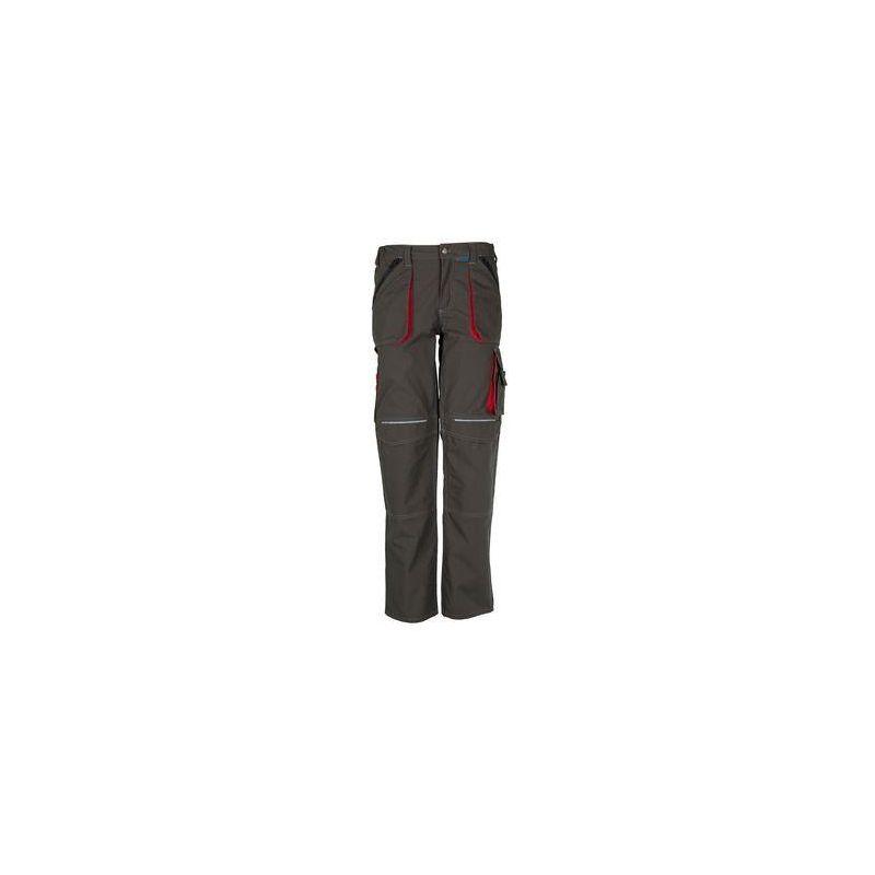BASALT Spodnie do pasa PLANAM /oliwkowo-czerwone/
