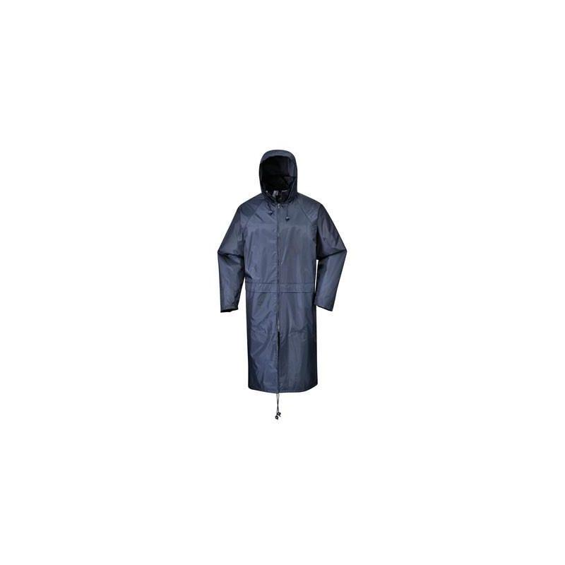 Płaszcz nieprzemakalny /granatowy/ S438