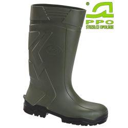 Buty całotworzywowe bezpieczne z poliuretanu z metalowym podnoskiem S4 wz.1042