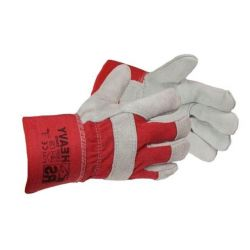 Rękawice wz.skórą HEAVY RS