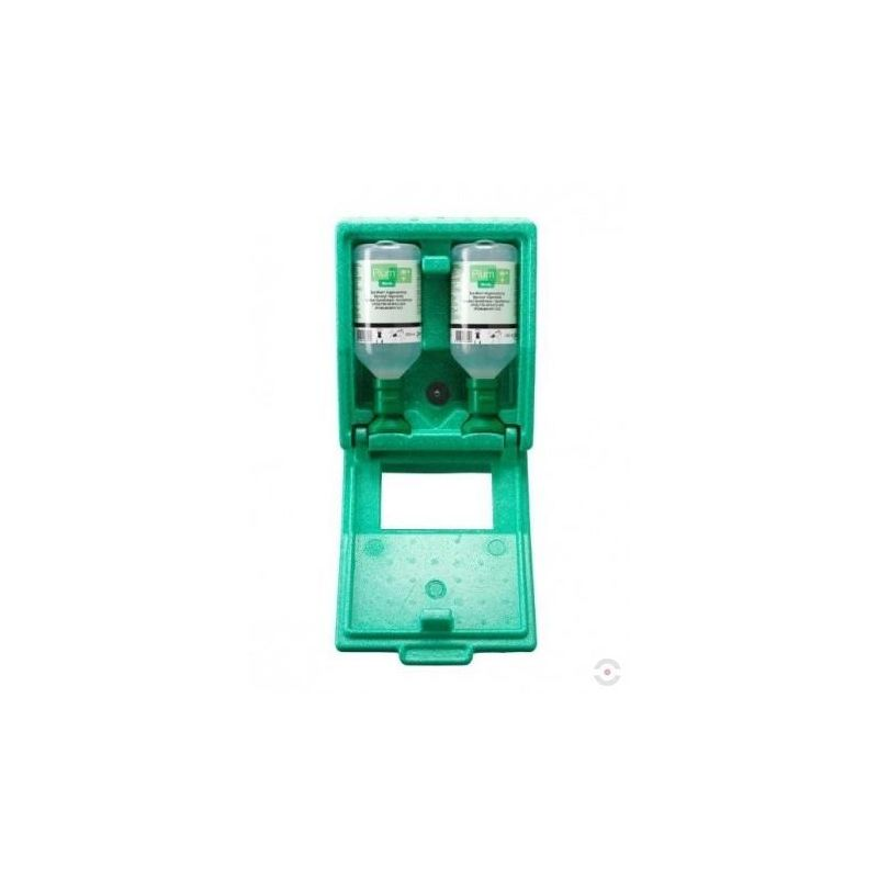 Zestaw naścienny zamykany - roztwór do płukania oka,butelka 2*500 ml, nr.art.133.203.500