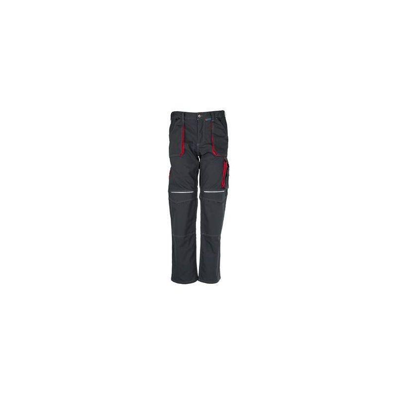 BASALT Spodnie do pasa PLANAM /antracytowo-czerwone/