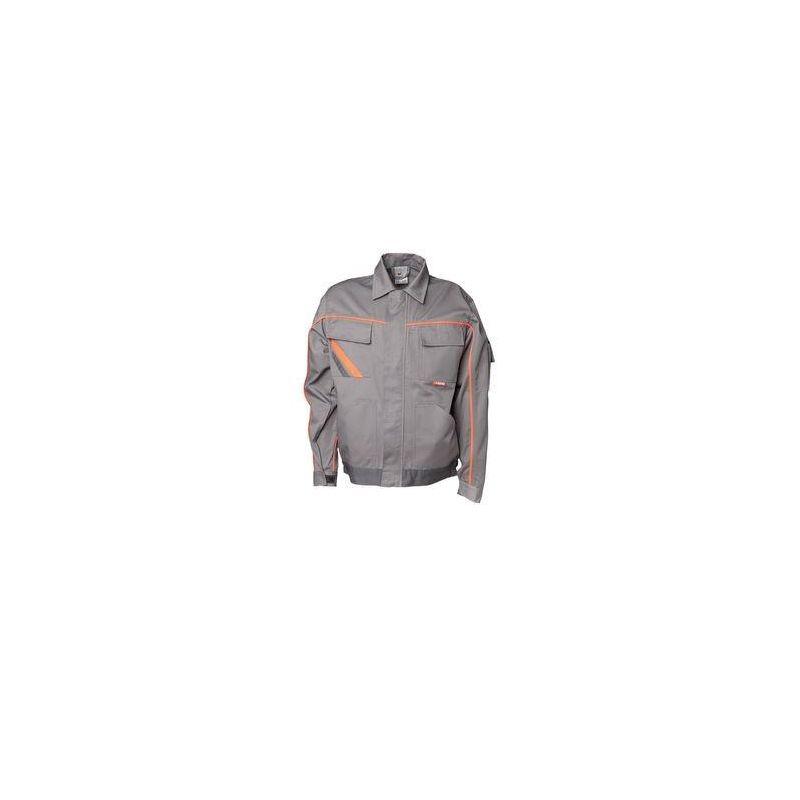 VISLINE Bluza robocza do pasa V2 PLANAM /cynkowo-pomarańczowo-łupkowa/