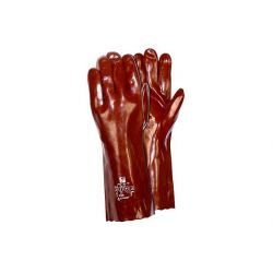 Rękawice RS PVC 27 cm GRANAT