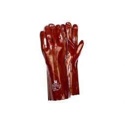 Rękawice RS PVC 35 cm GRANAT