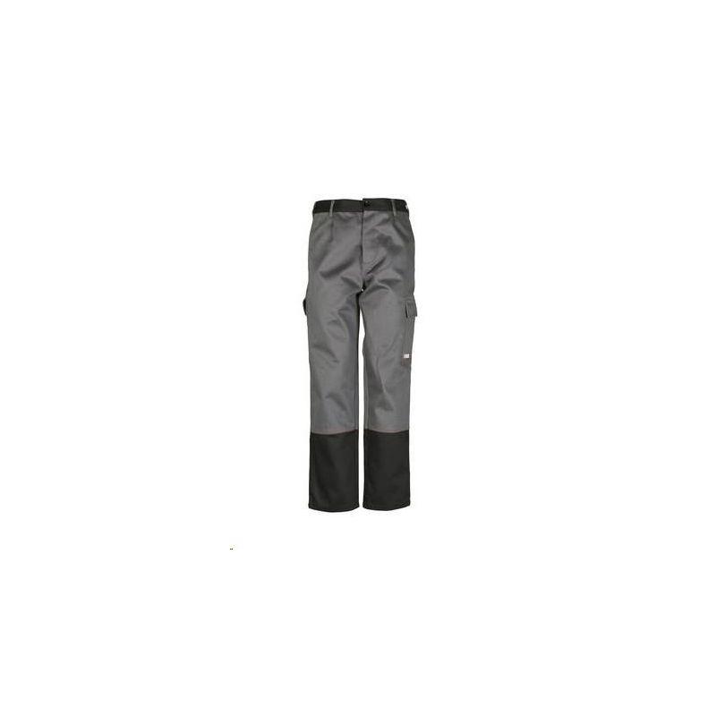 WELD SHIELD Spodnie do pasa PLANAM /szary-czarny/
