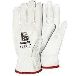 Rękawice robocze RS FAHRER  licowa skóra bydlęca