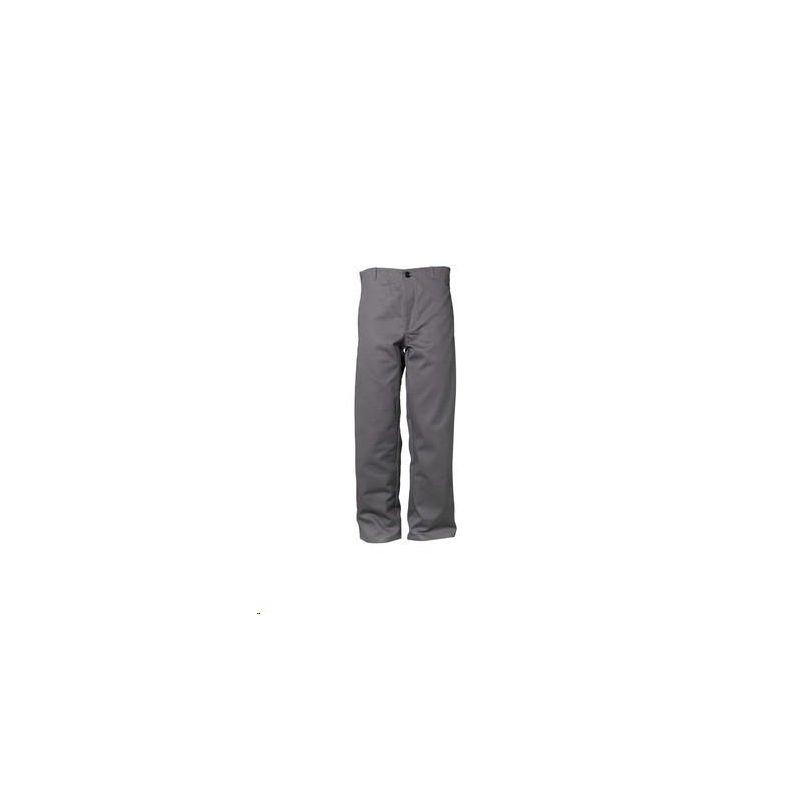 Spodnie do pasa dla spawaczy PLANAM 400 g/m2 /szary/