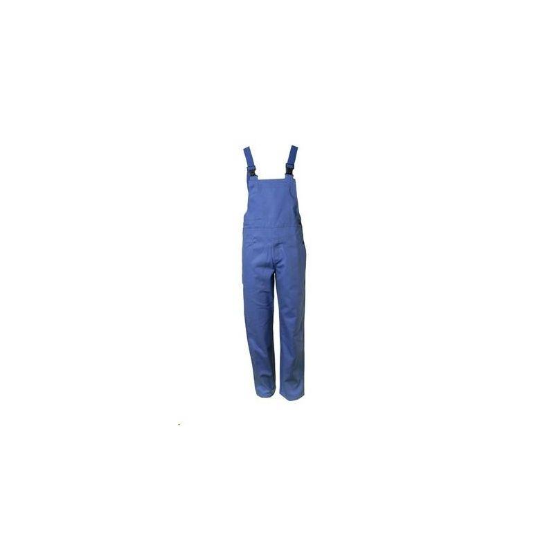 Spodnie ogrodniczki dla spawaczy PLANAM 360 g/m2 /chabrowy/