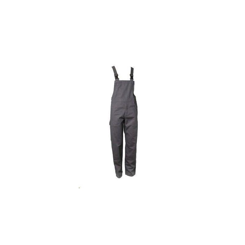 Spodnie ogrodniczki dla spawaczy PLANAM 400 g/m2 /szary/