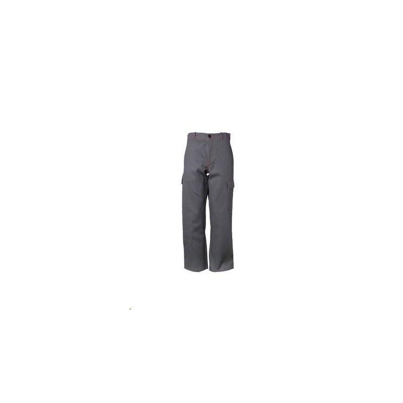 Spodnie do pasa dla spawacza PLANAM 500 g/m2 /szary/