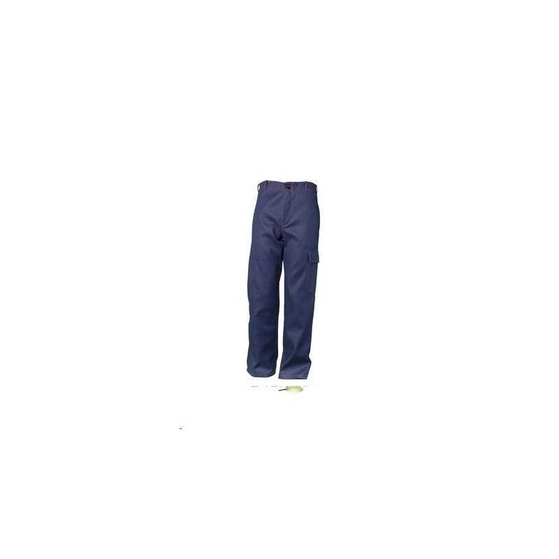 Spodnie do pasa dla spawaczy PLANAM 500 g/m2 /granatowy/