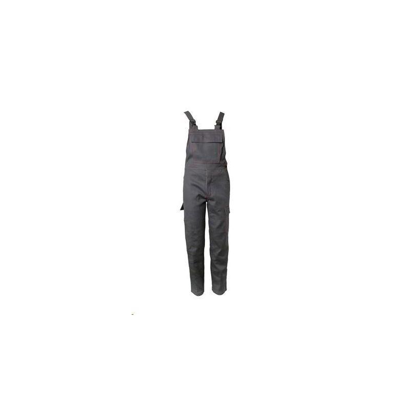 Spodnie ogrodniczki dla spawaczy PLANAM 500 g/m2 /szary/