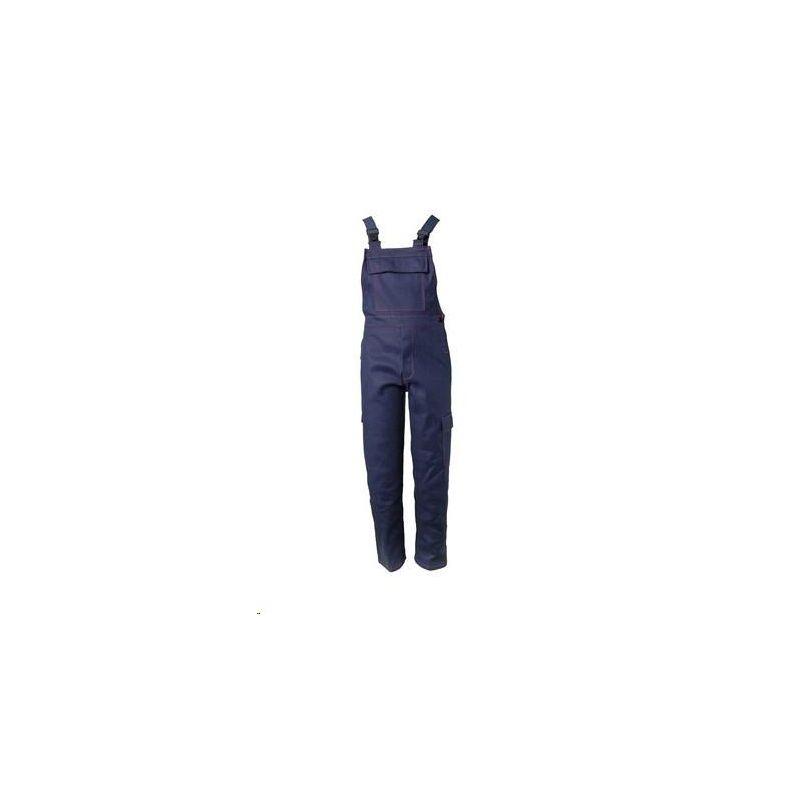 Spodnie ogrodniczki dla spawaczy PLANAM 500 g/m2 /granatowy/