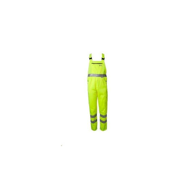Spodnie ogrodniczki ostrzegawcze PLANAM /żółte/
