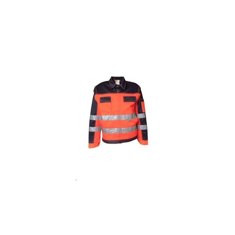 Bluza robocza dwukolorowa ostrzegawcza PLANAM /pomarańczowy-granatowy/