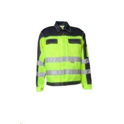 Bluza robocza dwukolorowa ostrzegawcza PLANAM /żółty-granatowy/