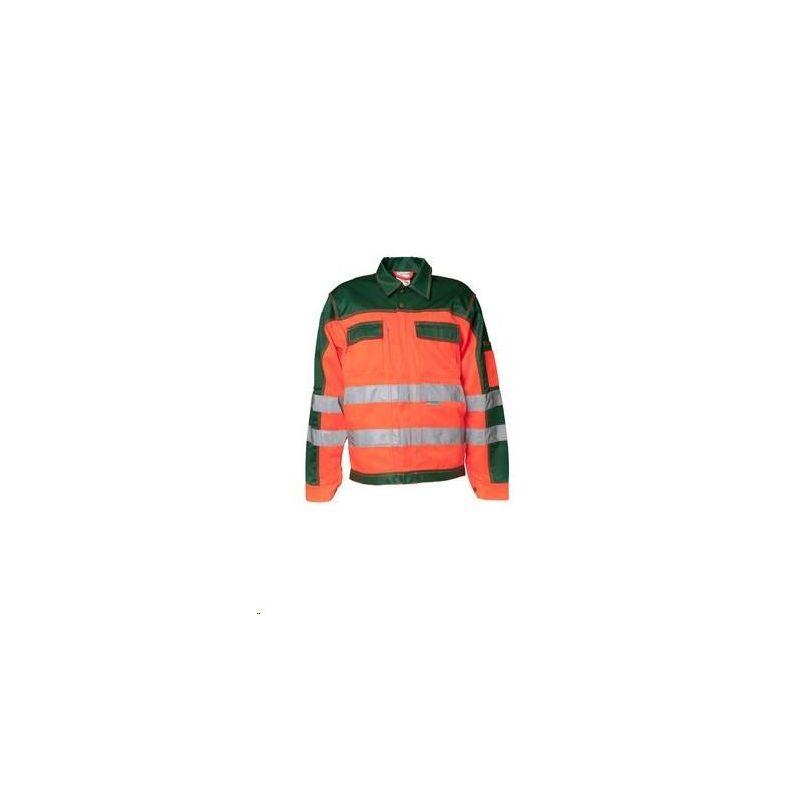 Bluza robocza dwukolorowa ostrzegawcza PLANAM /pomarańczowy-zielony/