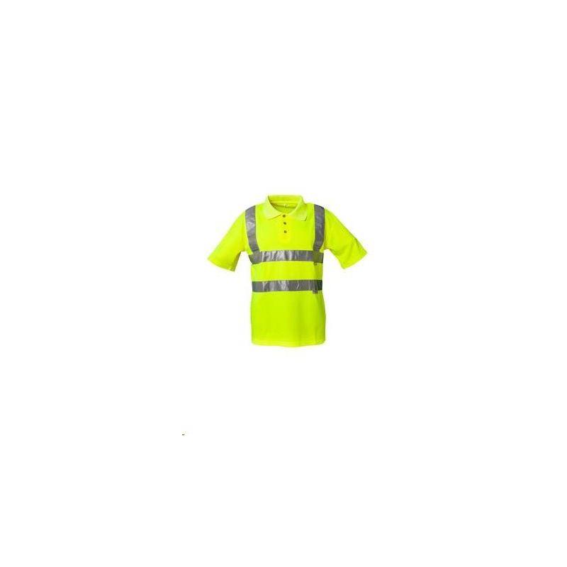 Koszulka polo ostrzegawcza PLANAM /żółty/