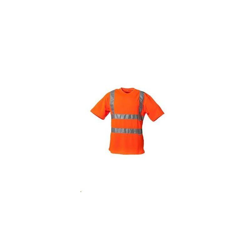 T-shirt ostrzegawczy PLANAM /pomarańczowy/