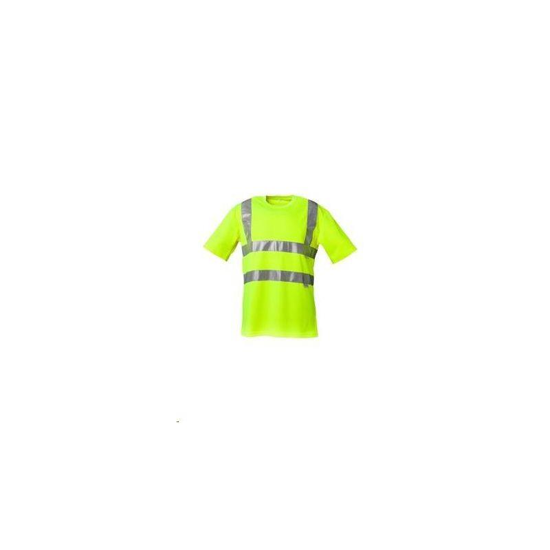 T-shirt ostrzegawczy PLANAM /żółty/