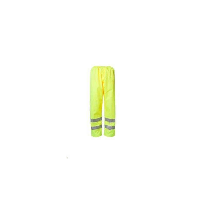 Spodnie przeciwdeszczowe ostrzegwcze PLANAM /żółte/