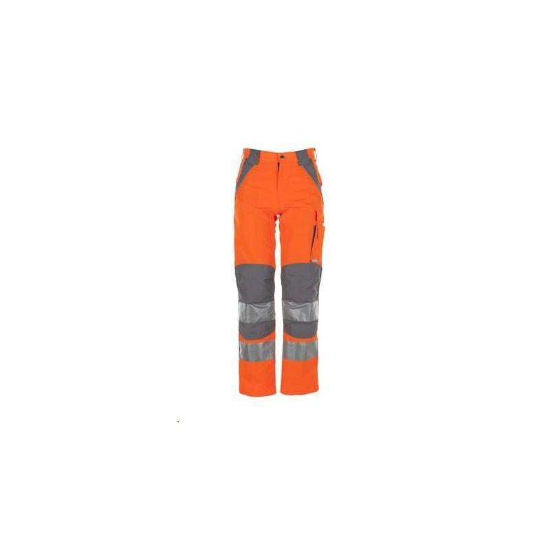 PLALINE Spodnie do pasa Planam /pomarańczowy-cynkowy/