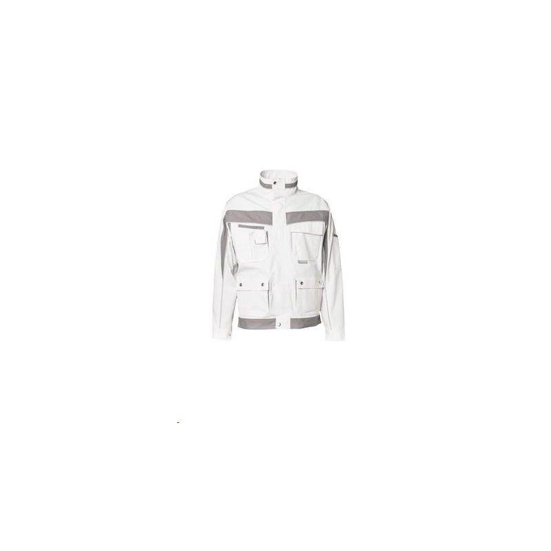 PLALINE Bluza robocza Planam /czysta biel-cynkowy/