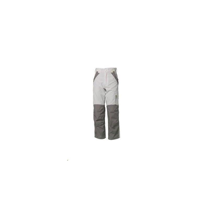 PLALINE Spodnie do pasa Planam /czysta biel-cynkowy/