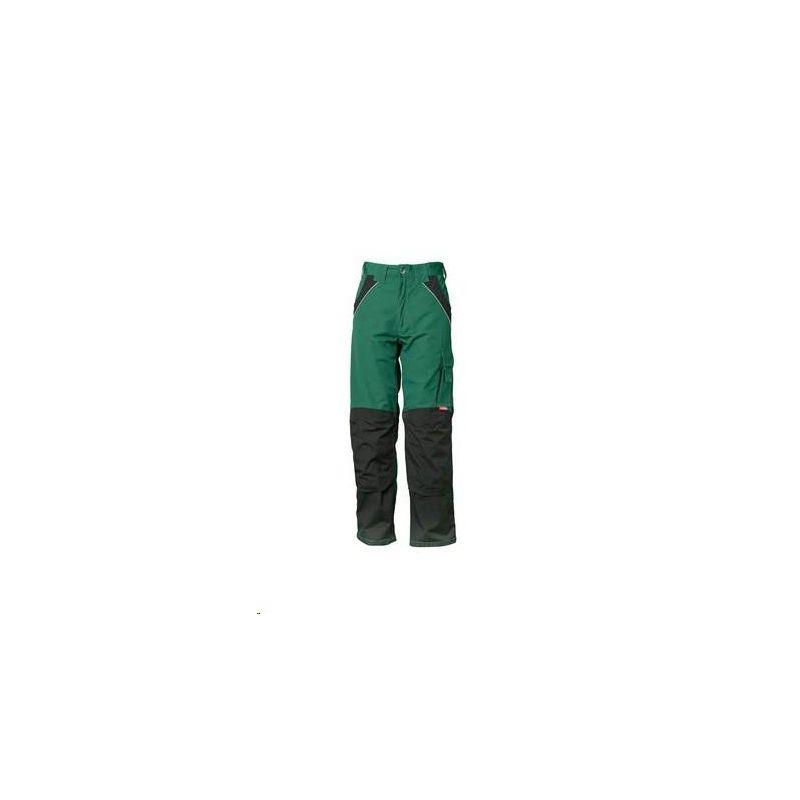 PLALINE Spodnie do pasa Planam /zielony-czarny/