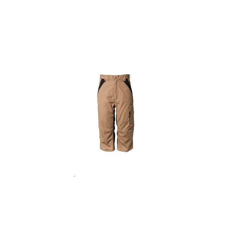 PLALINE Spodnie 3/4 Planam /piaskowy-czarny/