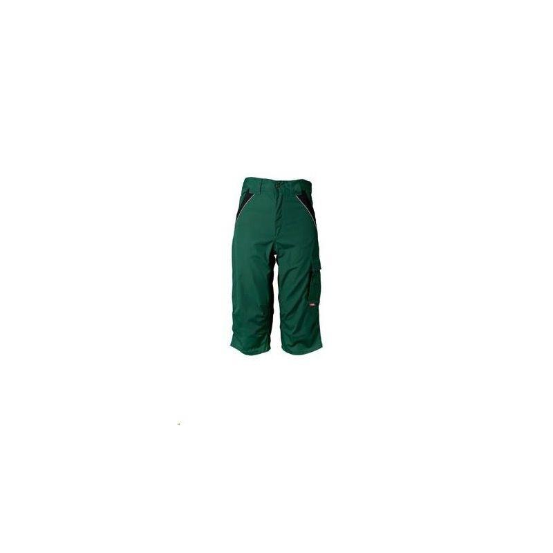 PLALINE Spodni 3/4 Planam /zielony-czarny/