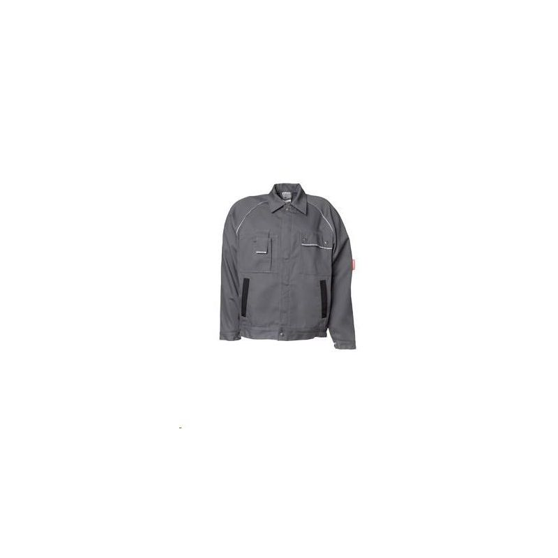 CANVAS 320 Bluza robocza Planam /szary-czarny/