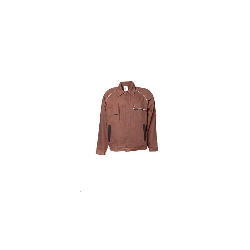 CANVAS 320 Bluza robocza Planam /brązowy-czarny/