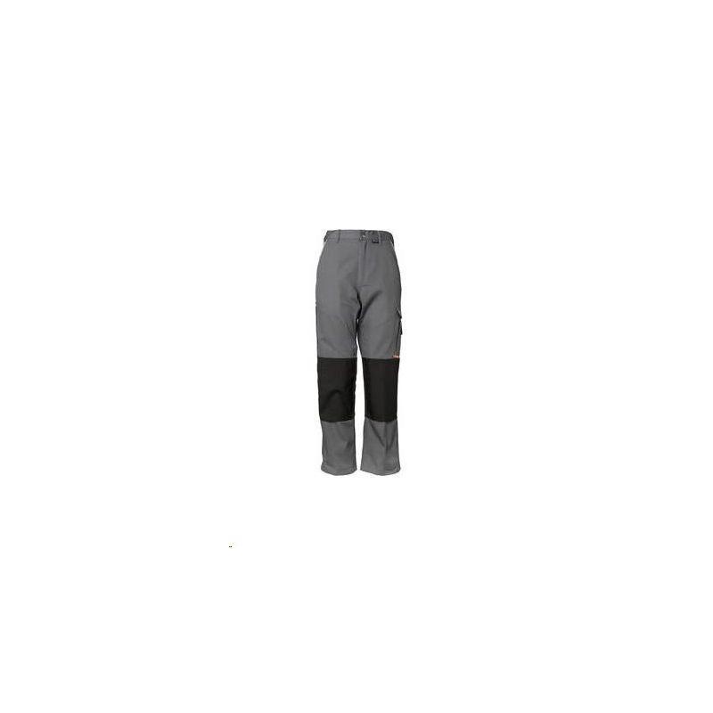 CANVAS 320 Spodnie do pasa Planam /szary-czarny/