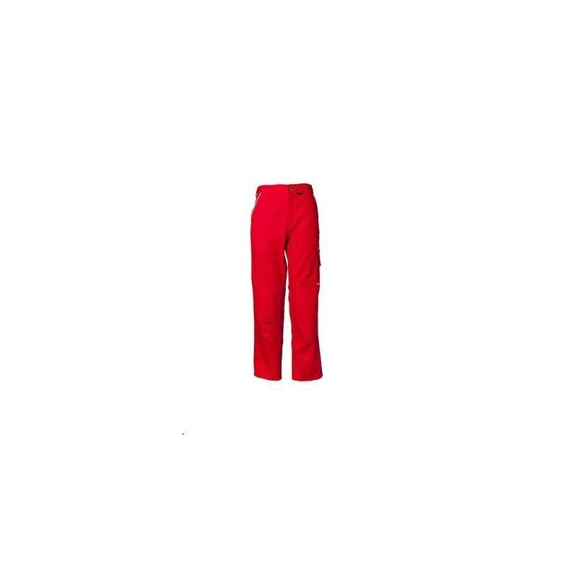CANVAS 320 Spodnie do pasa Planam /czerwony-czerwony/