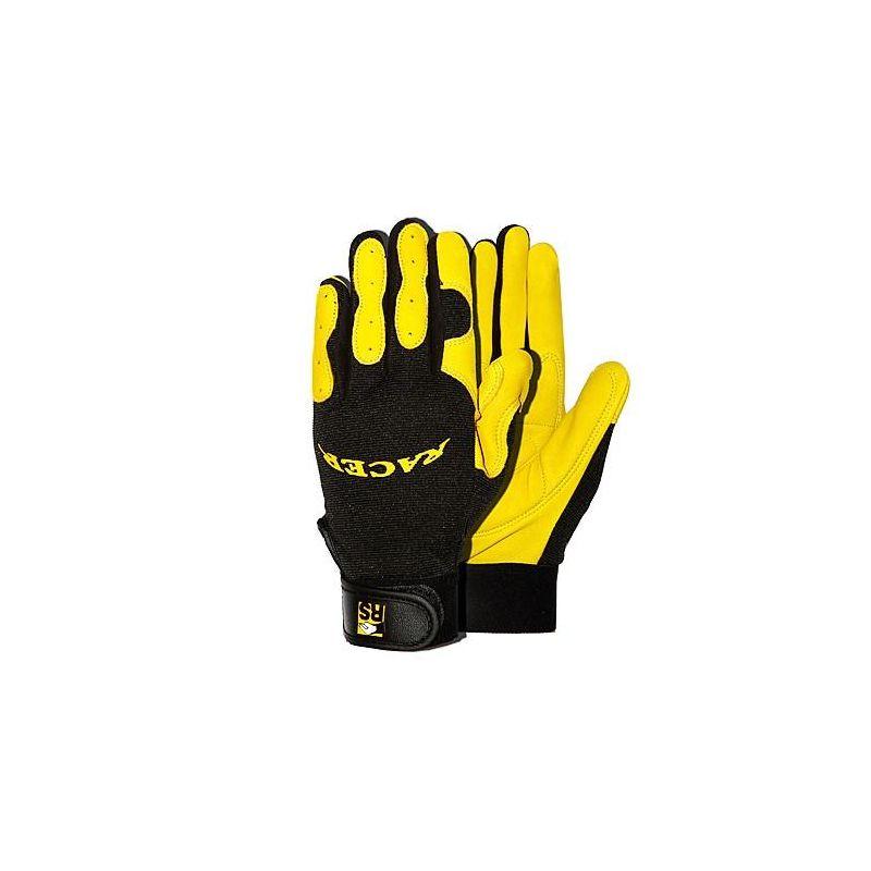 Rękawice monterskie z naturalnej skóry RACER RS