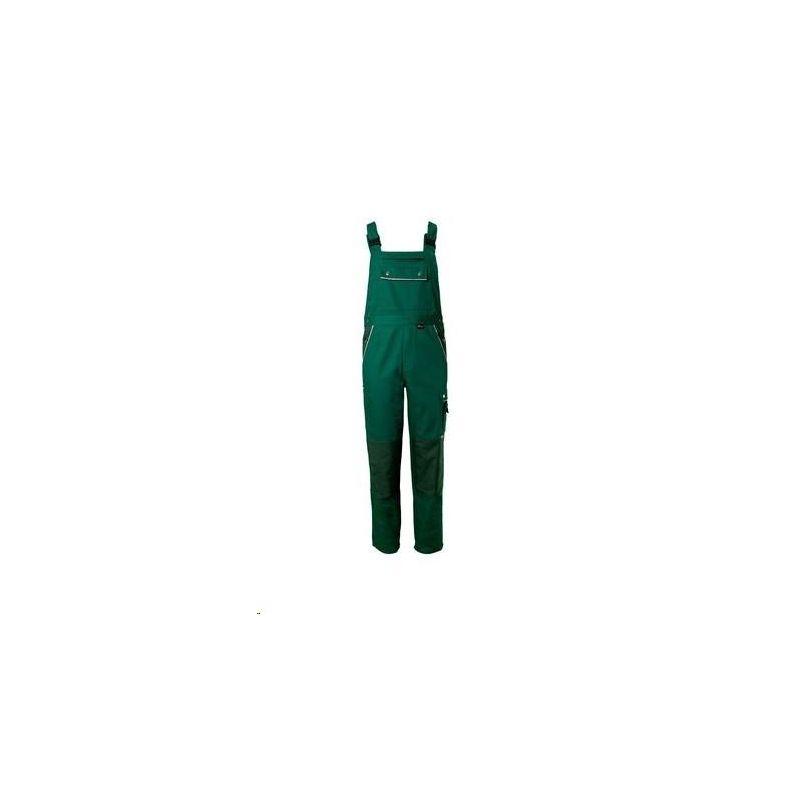 CANVAS 320 Spodnie ogrodniczki Planam /zielony-zielony/