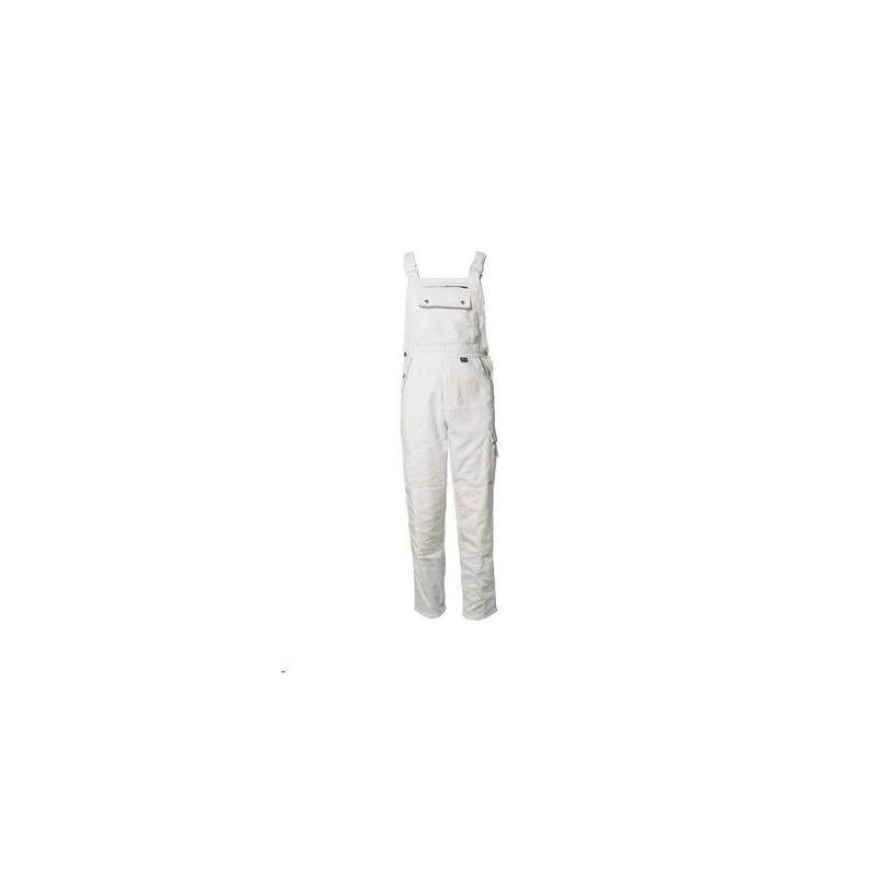 CANVAS 320 Spodnie ogrodniczki Planam /czysta biel-czysta biel/